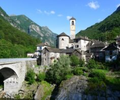 The most beautiful villages in Ticino, Switzerland