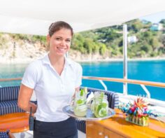 The best of the 'winter blues' on a luxury yacht charter to the Caribbean and Bahamas